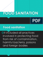 Food Sanitation New