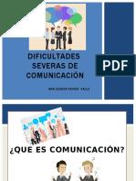Presentación Dificultades Severas de Comunicación