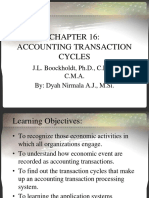 CHAPTER 16 - Accounting Transaction Cycles