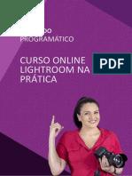 Lightroom na Prática