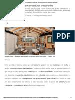 Revista Arquitetura e Construção - Tesouras à Mostra Em Coberturas Descoladas