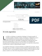 El Ciclo Argentino _ Plan V