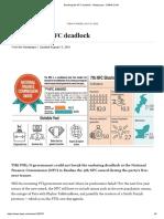 Breaking the NFC Deadlock - Newspaper - DAWN.com
