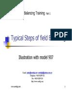Field balancings