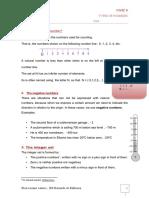 Types of Number ( 1º ESO)
