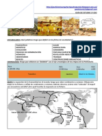 Tema 1 Guía de Estudio Prehistoria