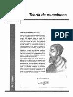 Teoría de Ecuaciones LUMBRERAS PDF