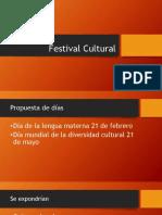 festival cultural