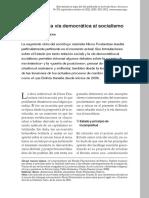 Garcia Linera, Alvaro. El Estado y La via Democratica Al Socialismo