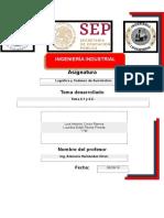 Tema 2.3, 2.4 y 2.5. Logística I7B 2019