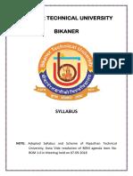 b.tech Civil Syllabus