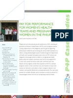 P4P Women's Health Team and Pregnant Women in the Philippines