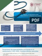 Tarea N° 3 ¿Por qué las especialidades quirúrgicas se desarrollaron en el mundo.pptx