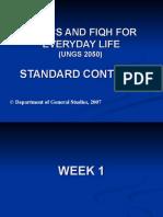 UNGS 2050 Standard Part 1