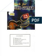 Dokumen.tips Guitar Songbook Js Bach for Electric Guitar