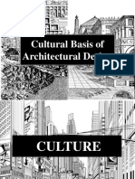 Cultural Basis of Architecture
