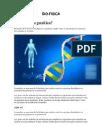 Genetica y Biofisica