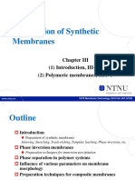 2-1 Preparation of Membranes-polymeric Membranes