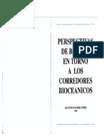 Saavedra - perspectivas de Bolivia en torno a los corredores bioceánicos