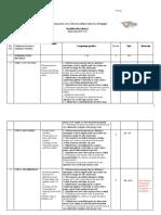 Planificare Engleza Clasa I a, B, E 2019-2020