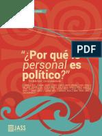 Porque Lo Personal Es Politico