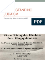 Judaism Powerpoint for SHS