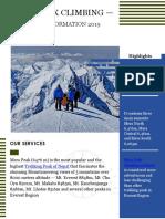 MERA PEAK CLIMBING — NECESSARY INFORMATION 2019 (UPDATED)