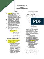 Philippine Political Law