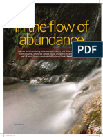 The flow of Abundance