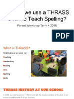 How Do We Use a Thrass Chart to Teach Spelling 3