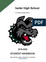 Student Handbook 2019-20