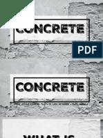 Concrete Final