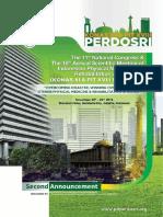 028 2nd Announcement Perdosri