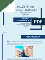 Lapkas Paru - asma dengan  pneumonia.pptx