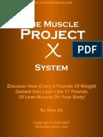 (Ali, Moe) Muscle Project X