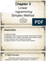 Chapter 3 Linear Programming
