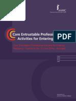 Core EPA to entering residency AMEE Toolkit