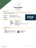Gaulin Yvan Ego Sum Resurrectio 113422