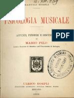 Hoepli Psicologia Musicale