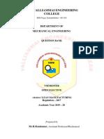 OIM552-Lean Manufacturing Qns