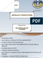 metallicconductor