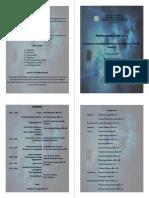 Symposium Program and Invitation