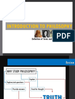 01 Introduction to Philosophy
