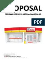 Proposal Penawaran Waralaba Alfamart