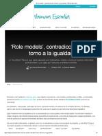 'Role Models', Contradicciones en Torno a La Igualdad - Woman Essentia
