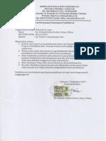 Surat Penutupan Pendaftaran Ukom II 2019