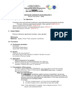 Cot on Pronoun-Antecedent Agreement Grade 6