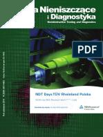 Badania nieniszczące i diagnostyka 01-2019