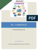 Namma Kalvi 12th Commerce Study Material Em 215328