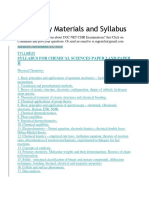 CSIR Study Materials and Syllabus
